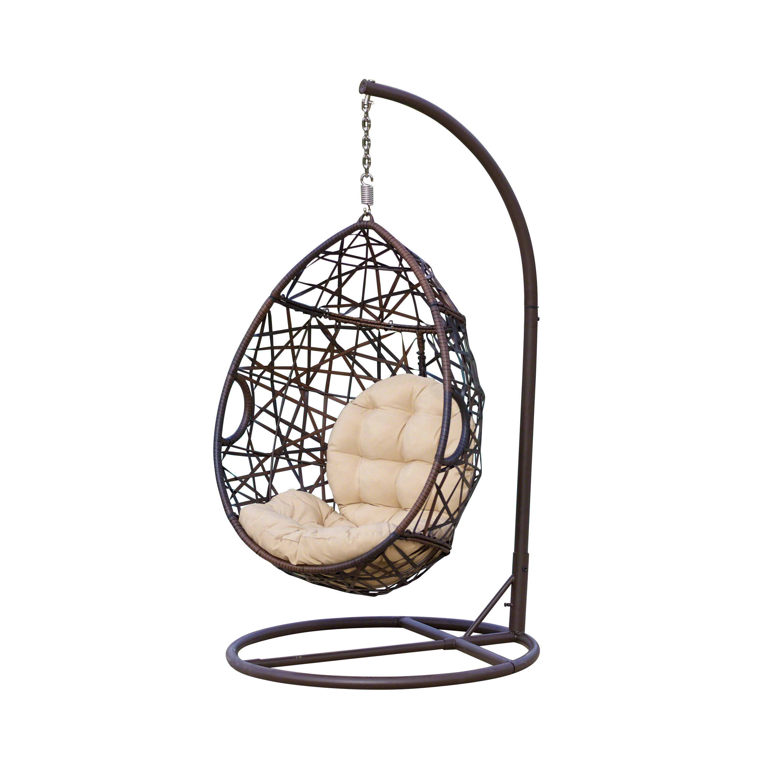 Anner Tear Drop Swing Chair With Stand Joss Main