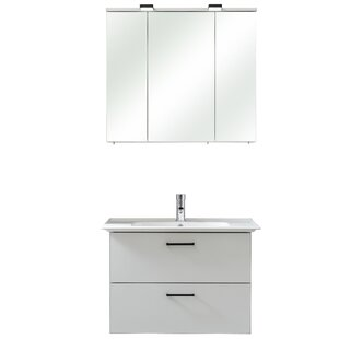 Belgrad 3 Piece Bathroom Storage Furniture Set By Quickset