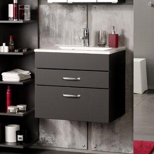 Dennison 600mm Wall Hung Vanity Unit By Ebern Designs