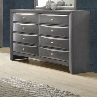 Shmuel 8 Drawer Double Dresser by Alcott Hill