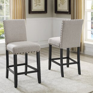 Haysi 26 Bar Stool (Set of 2) by Greyleigh