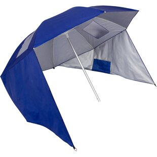 Tiara Sun Shelter 50+ UV Protection 7' Beach Umbrella