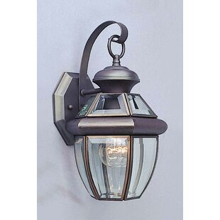 1-Light Outdoor Wall Lantern by Volume Lighting