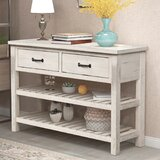 45 Solid Wood Console Table by Dovecove