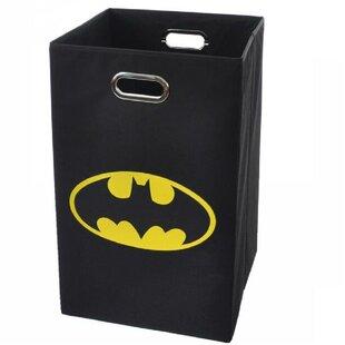 Affordable Batman Logo Folding Laundry Hamper ByModern Littles