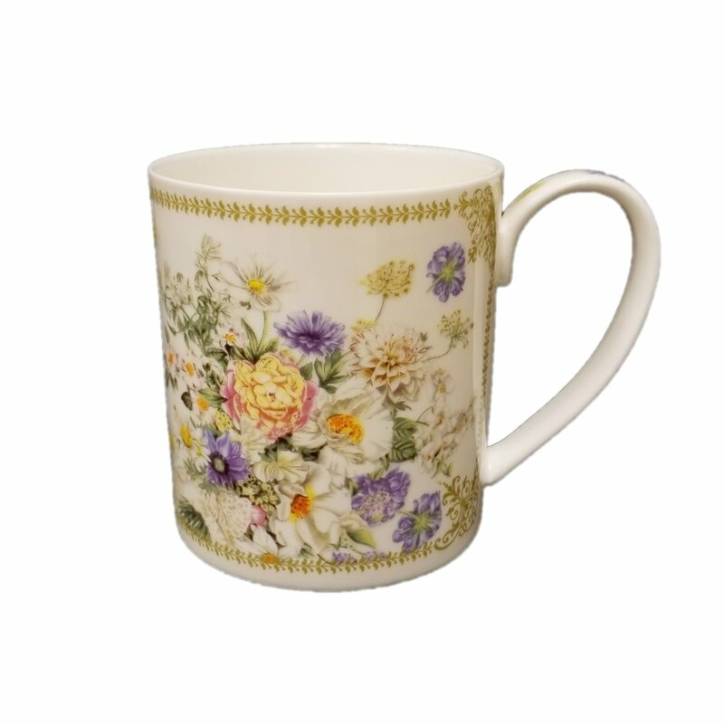 Ophelia Co Spring Flowers Coffee Mug Wayfair