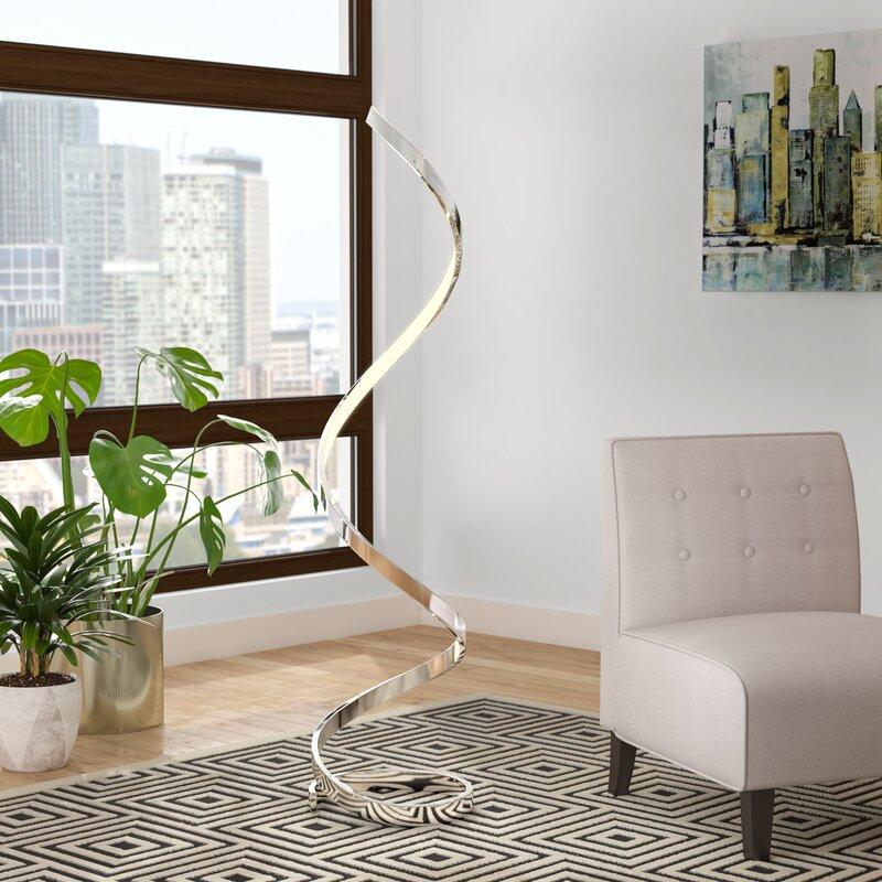 Orren Ellis Taquan 63 Led Novelty Floor Lamp Reviews Wayfair