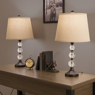 Crystal Ball 24 Table Lamp (Set of 2)