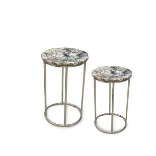 Read Reviews Dopson 2 Piece Nesting Tables By Ivy Bronx