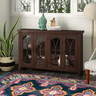 Bungalow Rose Sierra Madre 4 Door Accent Cabinet