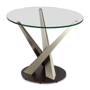 Elite Modern Crystal End Table