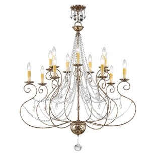 36 Inch Chandelier Crystal Wayfair