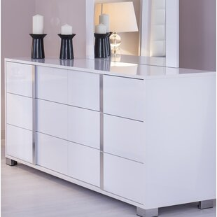 Gower 6 Drawer Double Dresser by Orren Ellis