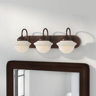 Best Reviews Bruges 3-Light Vanity Light By Trent Austin Design