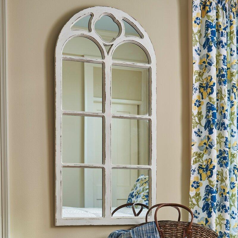 Window Wall Mirror parkdesignssplitp window wall mirror & reviews | wayfair
