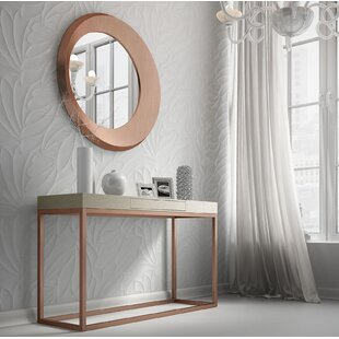 Brayden Studio Rashad Console Table and Mirror Set