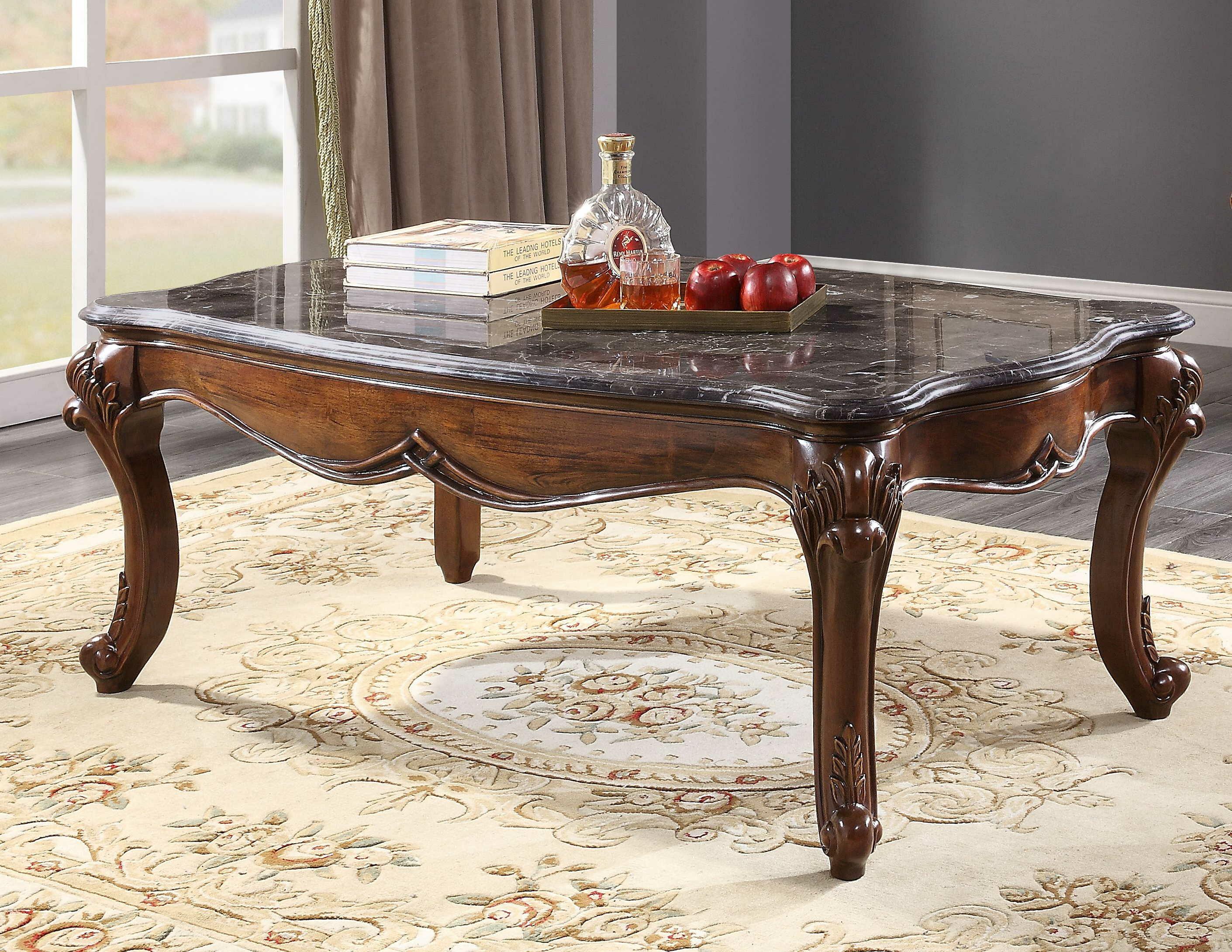 Cozzy Design Moshia 4 Legs Coffee Table Wayfair [ 2181 x 2821 Pixel ]