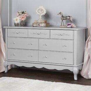 Aurora 7 Drawer Double Dresser