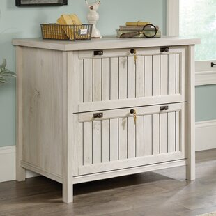 Costa 2 Drawer Lateral Filing Cabinet with Hutch by Laurel Foundry Modern Farmhouse