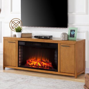 Compare Jowers Widescreen TV Stand for TVs up to 58 with Fireplace by Latitude Run Reviews (2019) & Buyer's Guide