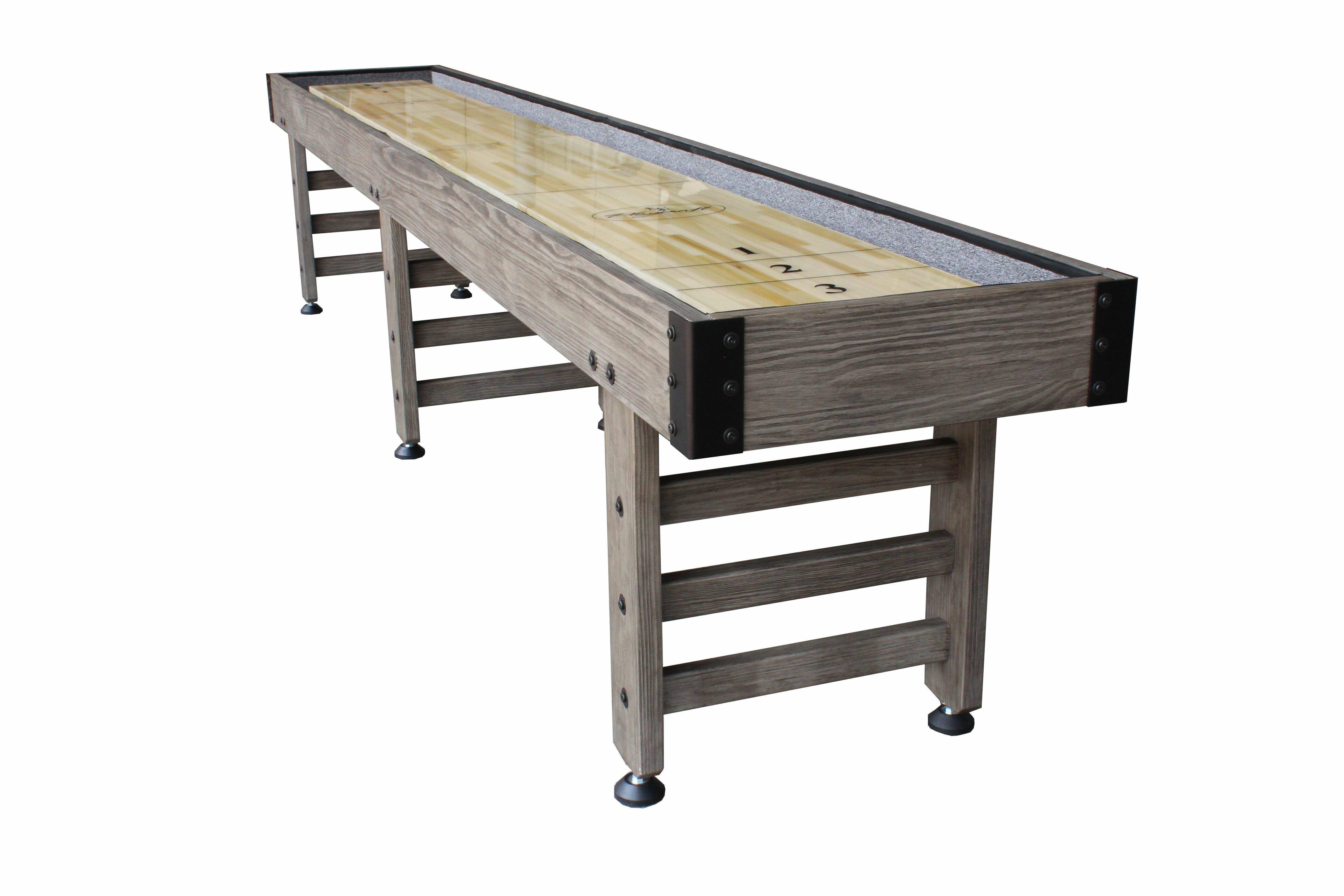 Playcraft Saybrook Shuffleboard Table Reviews Wayfair