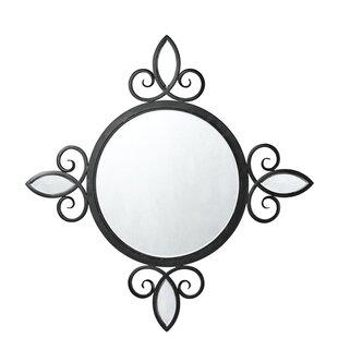 Fleur De Lis Living Iron Accent Mirror