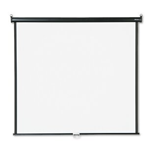 Matte White Manual Projection Screen