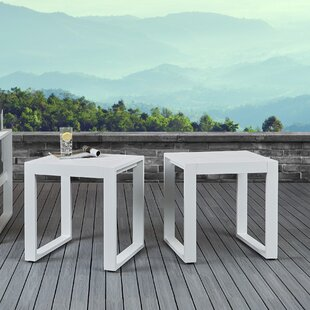 Baltic Aluminum Side Table (Set of 2)