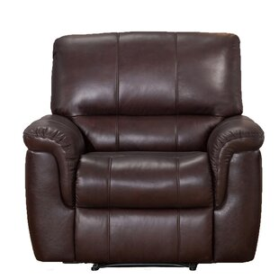 World Menagerie Deverell Leather Recliner
