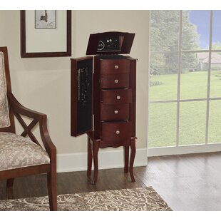 Find for Durand 35 Jewelry Armoire with Mirror By Alcott Hill