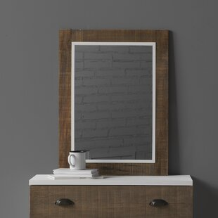 Nellie Wooden Rectangular Dresser Mirror By August Grove