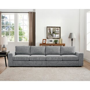 Corrine Linen-Like Modular Sofa