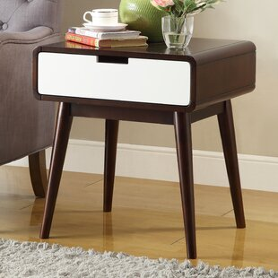 George Oliver Barge End Table With Storage