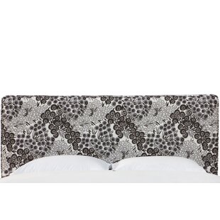 Faustine Seam Upholstered Panel Headboard by Bloomsbury Market