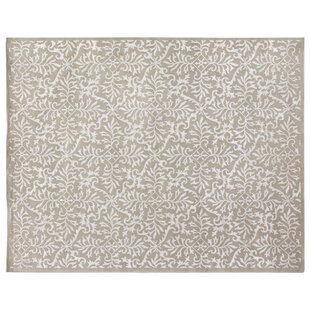 Buy Super Tibetan Hand-Knotted Gray/White Area Rug By Exquisite Rugs