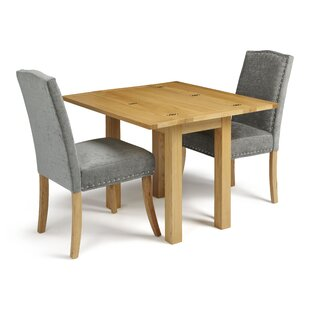 Shawnee Folding Dining Set With 2 Chairs By August Grove