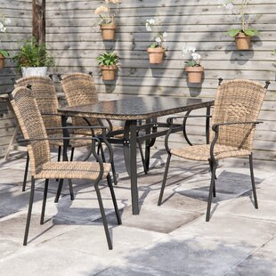 Bairagi 4 Seater Dining Set By Sol 72 Outdoor