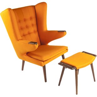 Olsen Wingback Chair by Stilnovo
