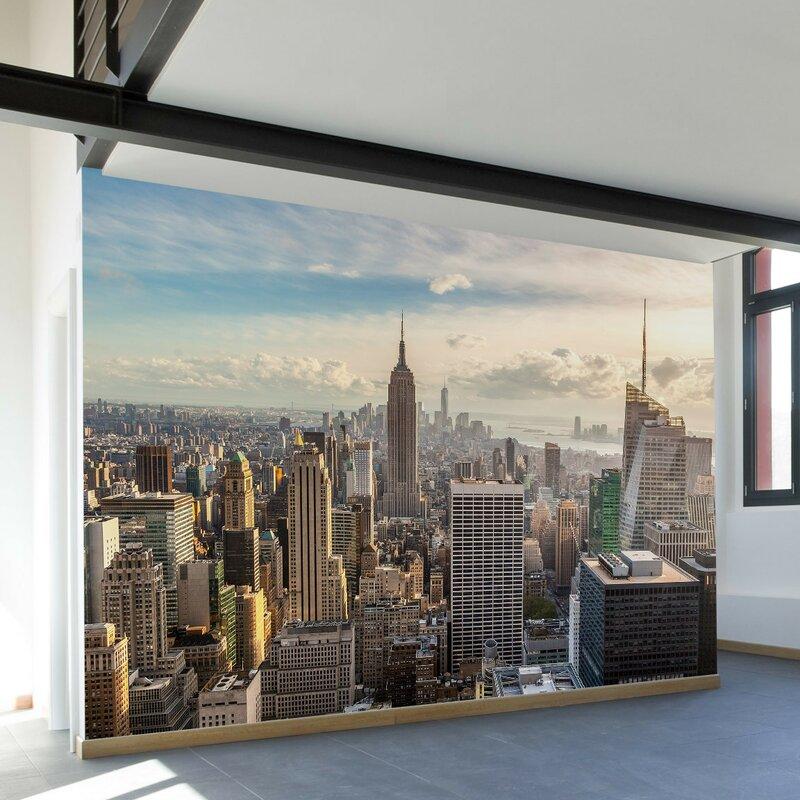 New York City Wall Mural walls need love new york skyline wall mural & reviews | wayfair