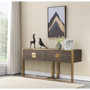 Everly Quinn Sandisfield Console Table