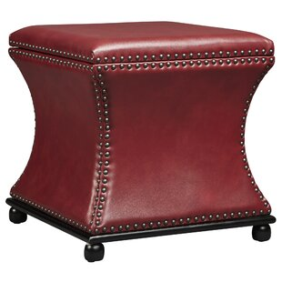 Armisen Leather Storage Ottoman by DarHome Co