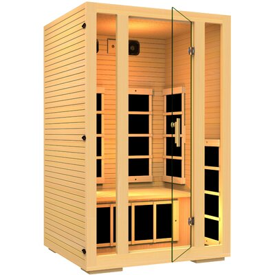 joyous 2 person carbon far infrared sauna - Infared Sauna