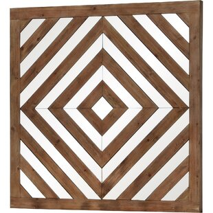 Union Rustic Rooney Square Framed Wall Mirror