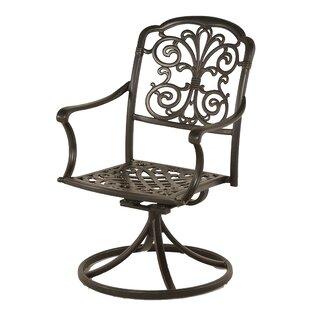Merlyn Swivel Rocking Chair (Set of 2) by Fleur De Lis Living