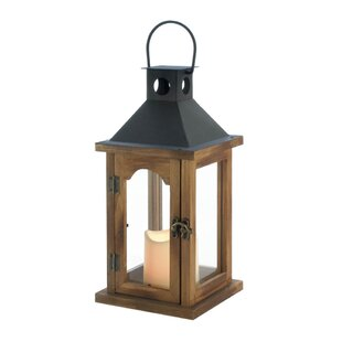 Simple Rustic Wood Lantern
