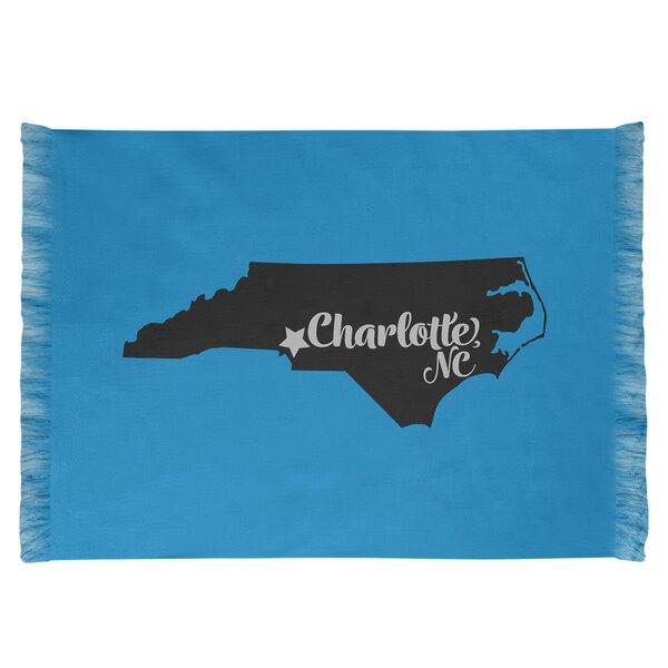 East Urban Home North Carolina Sports Sky Blue Black Area Rug Wayfair