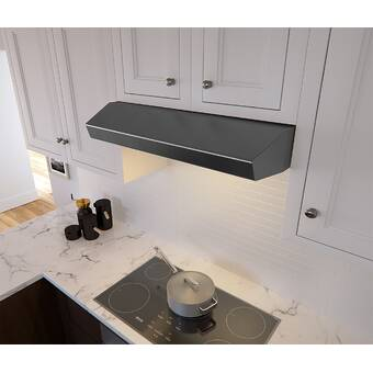 Blomberg 30 250 Cfm Convertible Under Cabinet Range Hood Wayfair