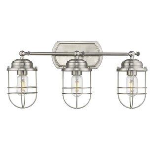 Best Kaeden 3-Light Vanity Light ByGracie Oaks