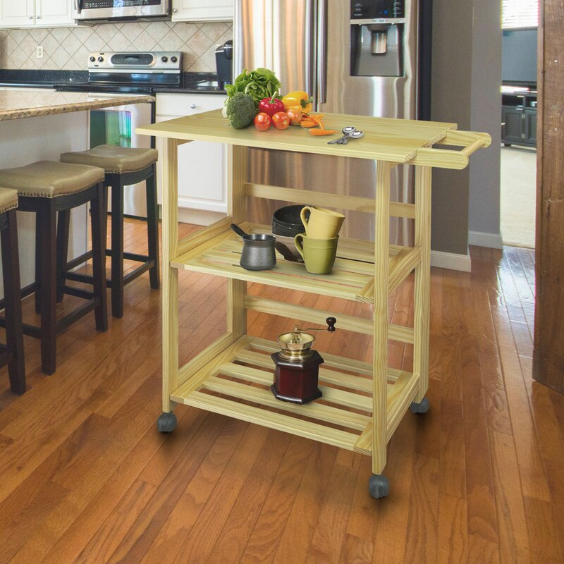 Symple Stuff Hession Kitchen Cart