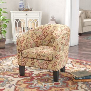 Brookhill Barrel Armchair by Charlton Home